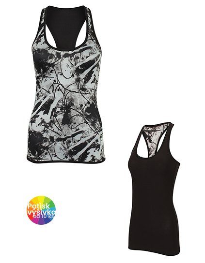 Women`s Reversible Workout Vest  G_SF240