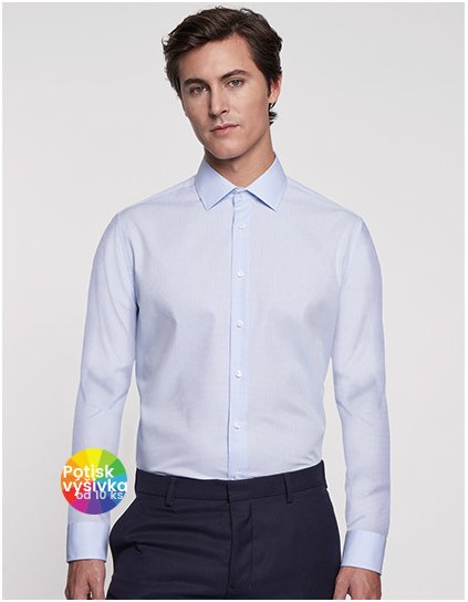 Men`s Shirt Tailored Fit Check/Stripes Longsleeve  G_SN246670