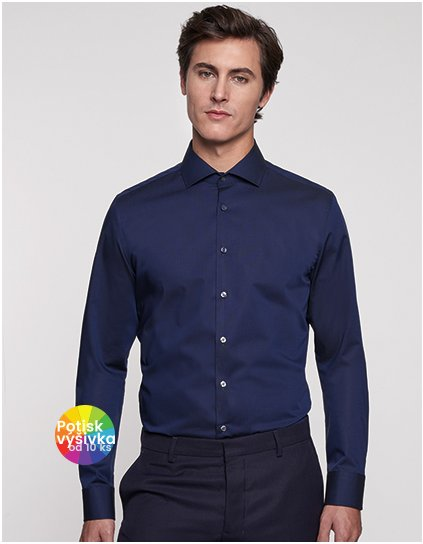 Men Shirt Slim Long Sleeve  G_SN660017