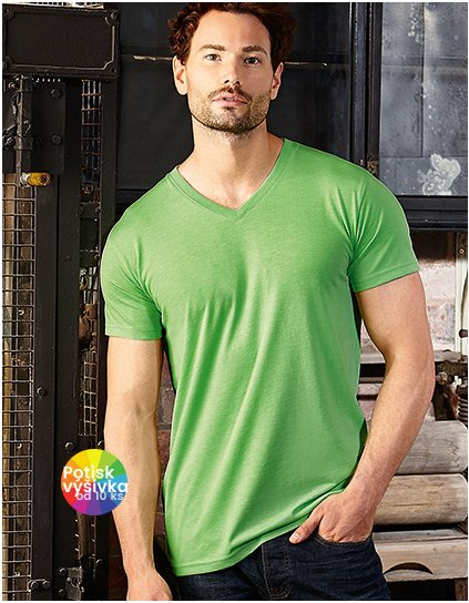 Men`s V-Neck HD T  G_Z166M
