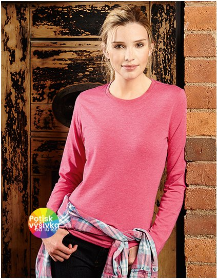 Ladies` Long Sleeve HD T  G_Z167F