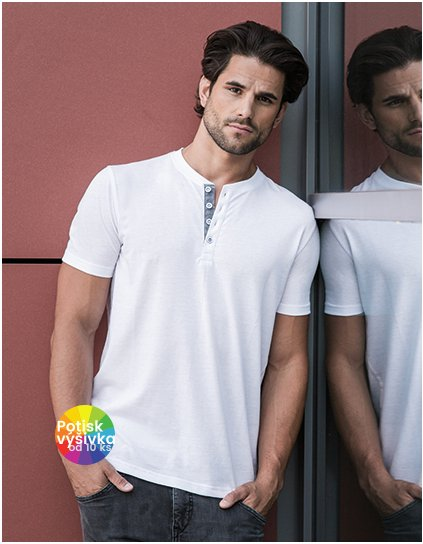 Men`s Henley HD T  G_Z168M