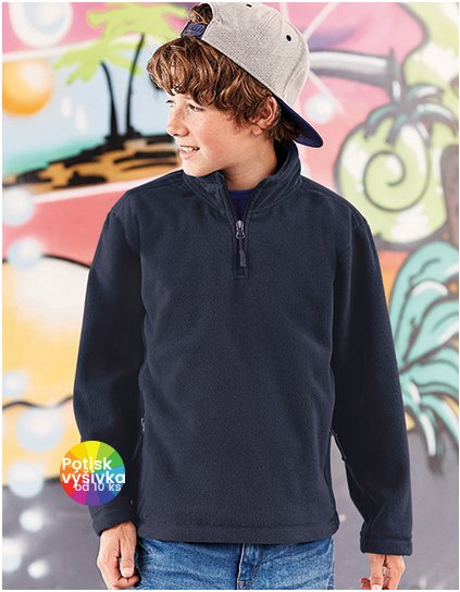 Children´s Quarter Zip Outdoor Fleece  G_Z8740K