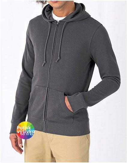 Organic Zipped Hood Jacket  G_BCWU35B