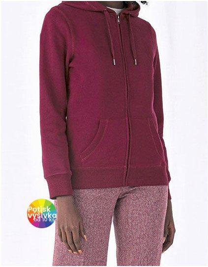 QUEEN Zipped Hood Jacket /Women  G_BCWW03Q