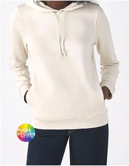 Organic Hooded Sweat /Women  G_BCWW34B