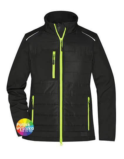 Ladies' Hybrid Jacket  G_JN1819