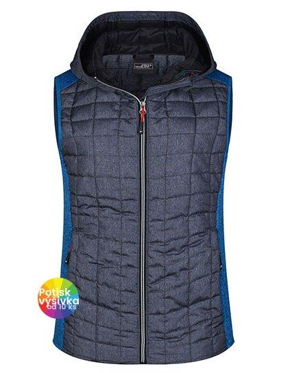 Ladies' Knitted Hybrid Vest  G_JN767