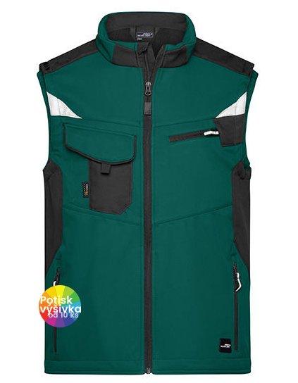 Workwear Softshell Vest -STRONG-  G_JN845