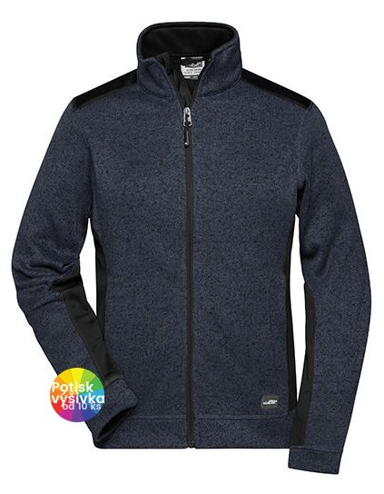 Ladies' Knitted Workwear Fleece Jacket -STRONG-  G_JN861