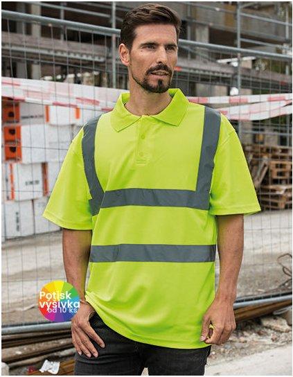 Blended fabric Poloshirt  G_KX075