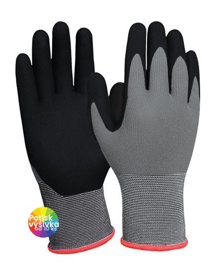Nitrile Foam Glove  G_KX157