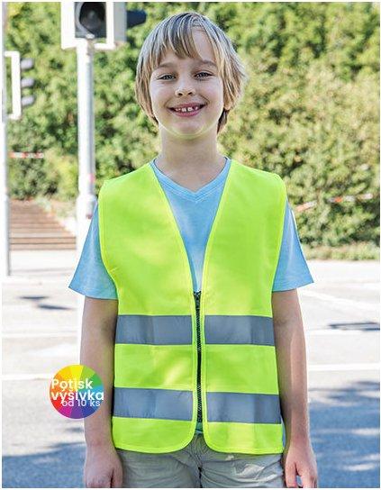 Safety Vest for Kids with Zipper EN1150  G_KX201