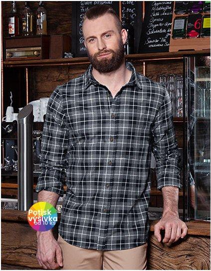Men`s Checked Shirt Urban  G_KY124