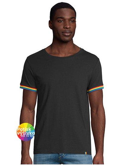 Men´s Short Sleeve T-Shirt Rainbow  G_L03108
