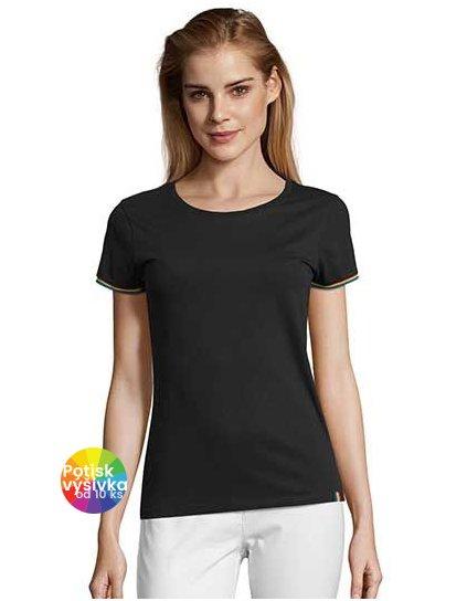 Women´s Short Sleeve T-Shirt Rainbow  G_L03109