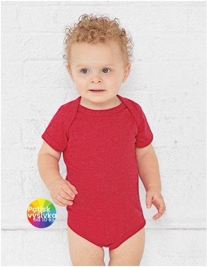 Infant Fine Jersey Short Sleeve Bodysuit  G_LA4424N