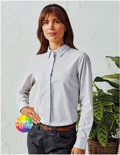 Maxton Check Womens Long Sleeve Shirt  G_PW352