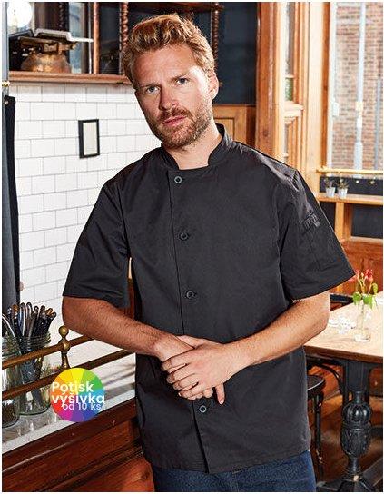 Essential Short Sleeve Chefs Jacket  G_PW900