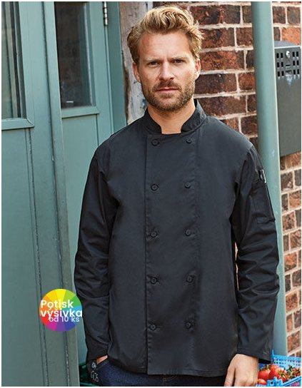 Chefs Long Sleeve Coolchecker® Jacket  G_PW903