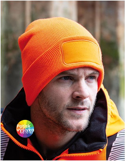 Double Knit Thinsulate™ Printers Beanie  G_RC034