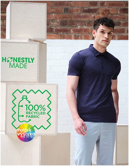 Honestly Made Recycled Polo  G_RG1960