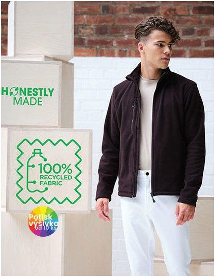 Honestly Made Recycled Full Zip Fleece Jacket  G_RG6180