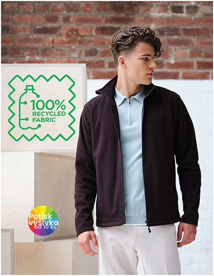 Honestly Made Recycled Full Zip Microfleece  G_RG6220