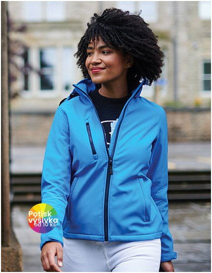 Womens Venturer 3-layer Printable Hooded Softshell Jacket  G_RG702