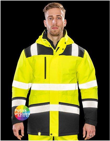 Printable Waterproof Softshell Safety Coat  G_RT475