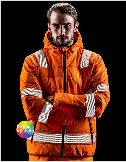 Recycled Ripstop Padded Safety Jacket  G_RT500