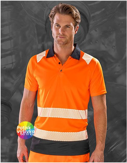 Recycled Safety Polo Shirt  G_RT501