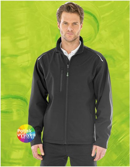 Recycled 3-Layer Printable Softshell Jacket  G_RT900