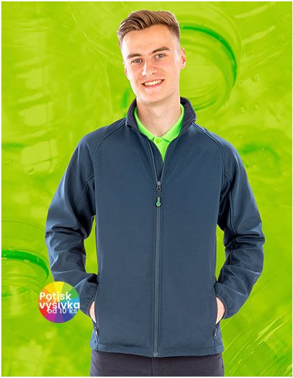 Mens Recycled 2-Layer Printable Softshell Jacket  G_RT901