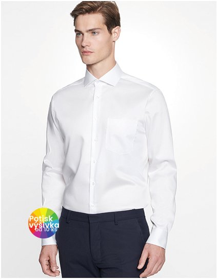 Men`s Shirt Regular Fit Twill Longsleeve  G_SN195007