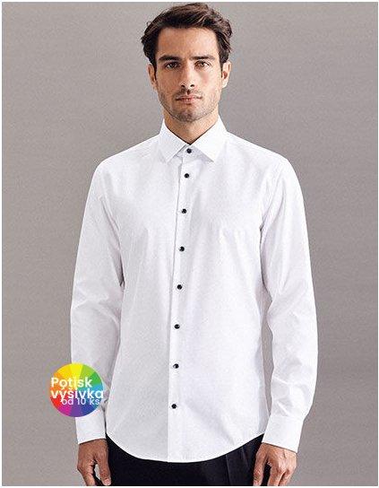 Men`s Shirt Poplin Shaped Fit Longsleeve  G_SN293690