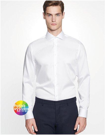 Men`s Shirt Shaped Fit Twill Longsleeve  G_SN295007