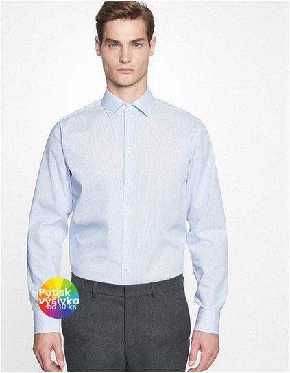 Men`s Shirt Slim Fit Check/Stripes Longsleeve  G_SN660020
