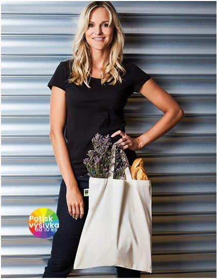 Cotton Bag, Fairtrade-Cotton, short handles  G_XT500N