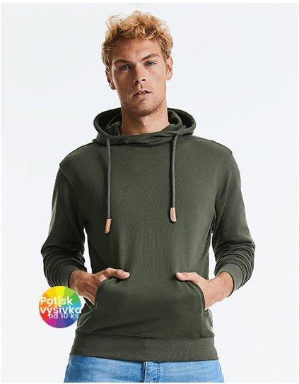 Pure Organic High Collar Hooded Sweat  G_Z209M
