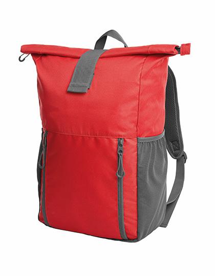 Halfar Courier Backpack Companion Barva: red, Velikost: 28,5 x 56 x 13,5 cm G_HF3061