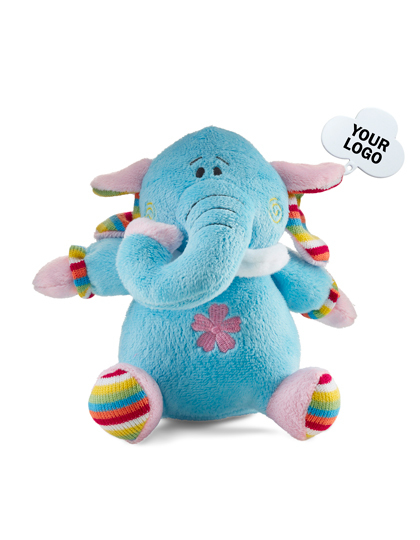 Giving Europe Plush toy animals Barva: Elefant, Velikost: 19 x 18 x 13 cm G_NT5341