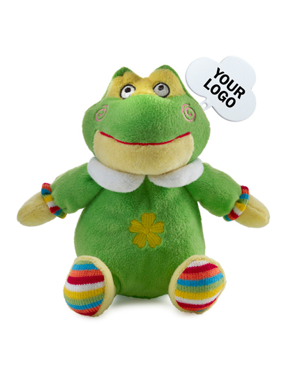 Giving Europe Plush toy animals Barva: Frosch, Velikost: 19 x 18 x 13 cm G_NT5341