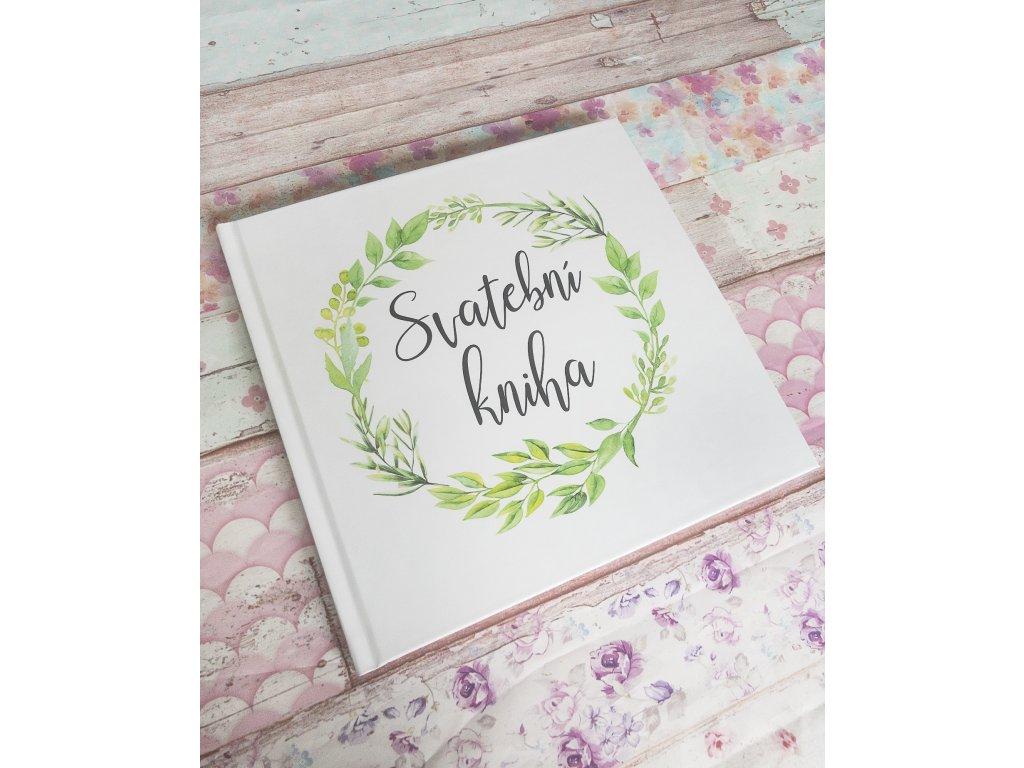 svatební kniha rustic