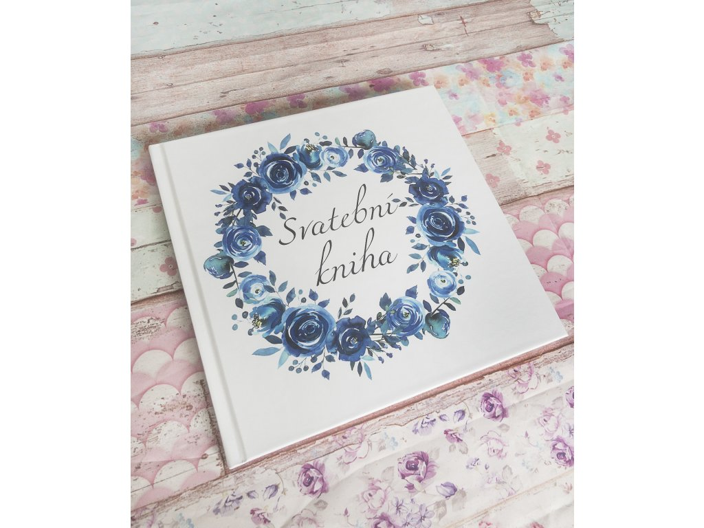 svatební kniha deep blue