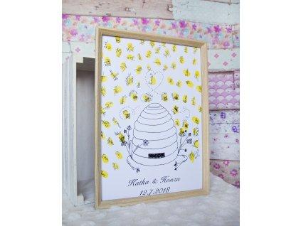 Svatební strom - včelí úl