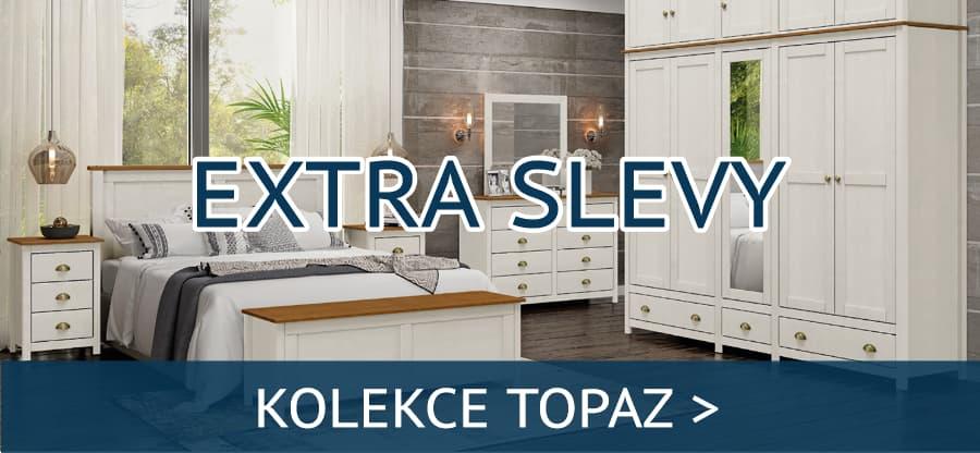 Kolekce nábytku Topaz nyní za akční ceny