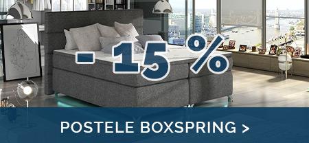 Nyní si u nás nakoupíte postele Boxspring za akční ceny