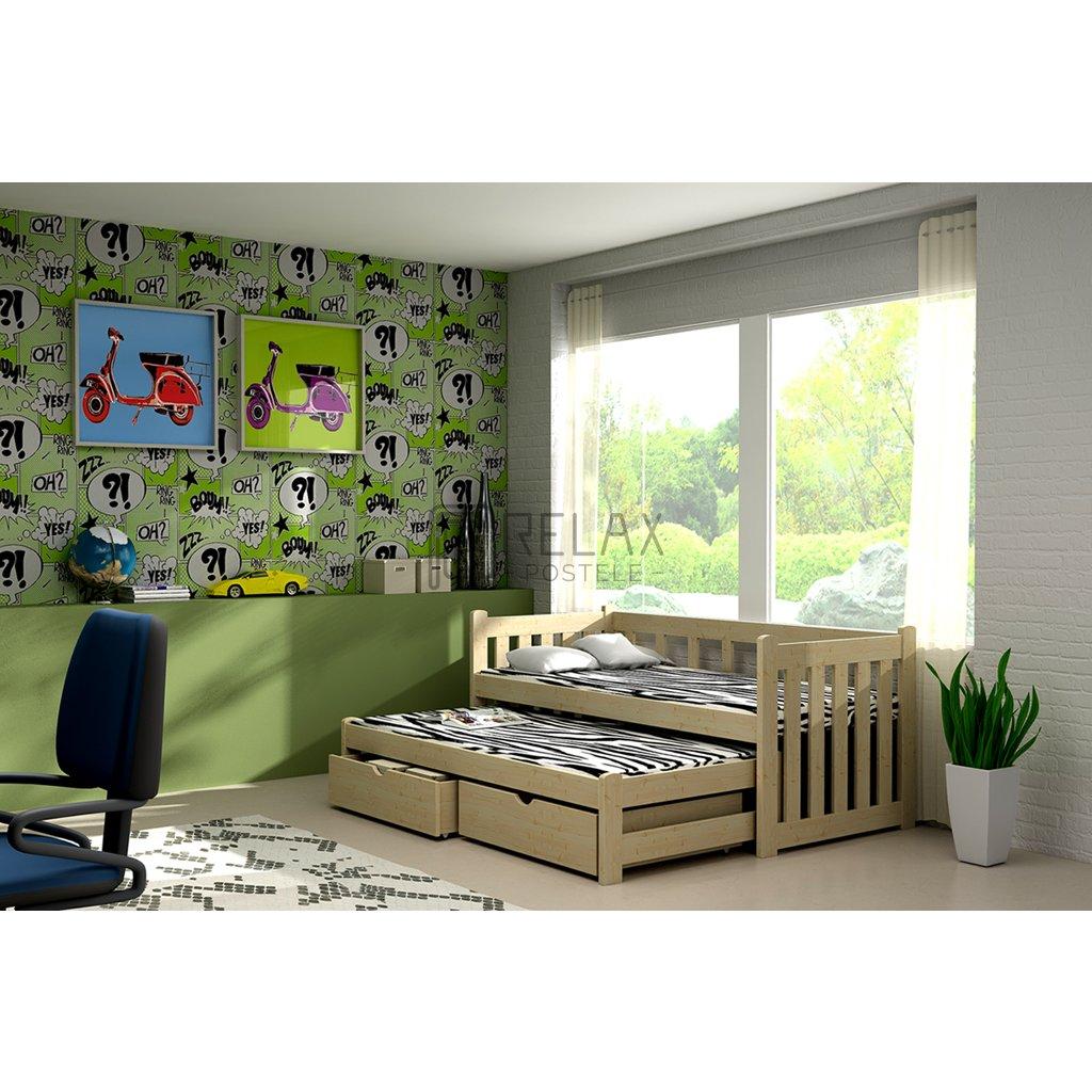Dětská postel s přistýlkou Krzyš