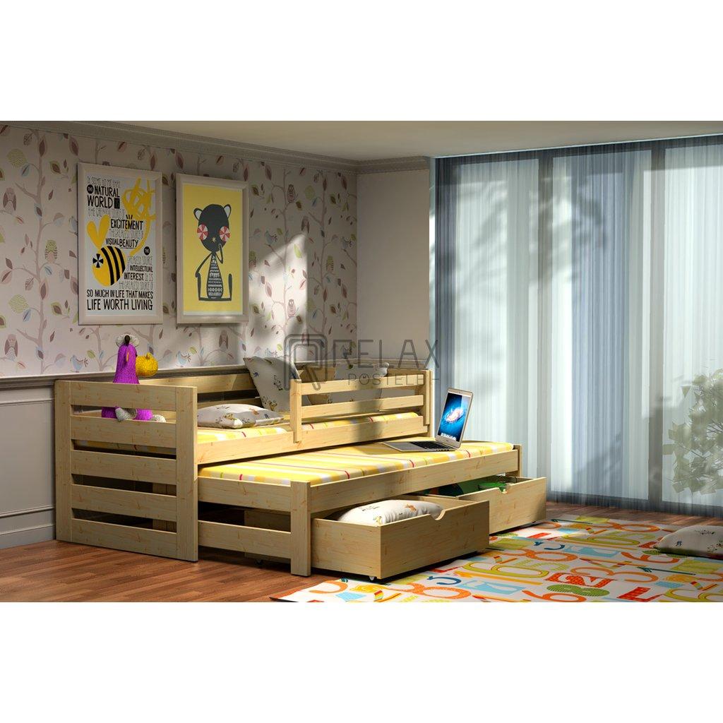 Dětská postel s přistýlkou Jola